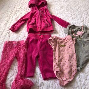Juicy couture baby bundle